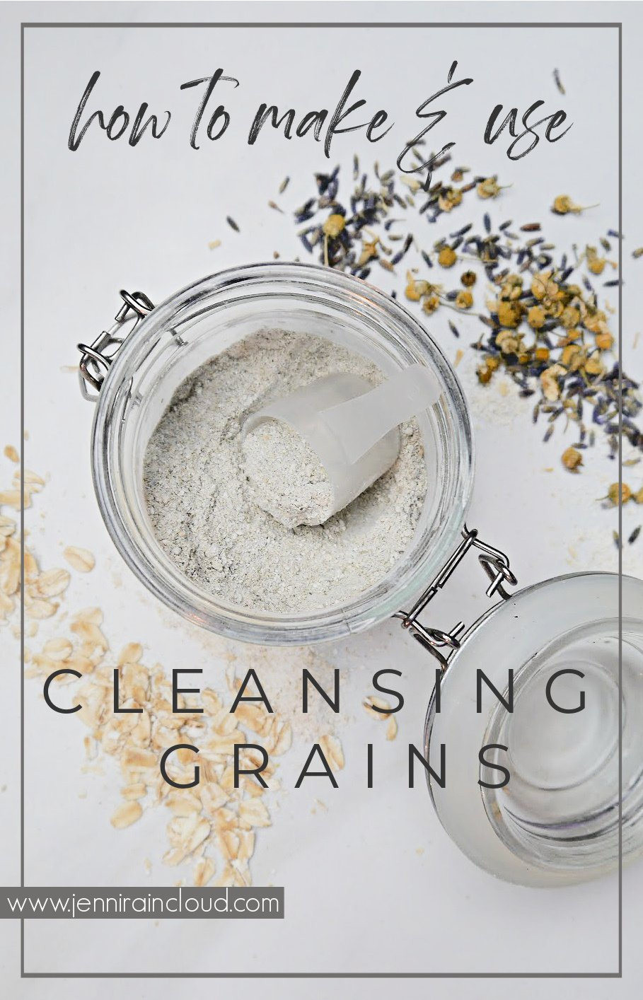 DIY Cleansing Grains Pinterest