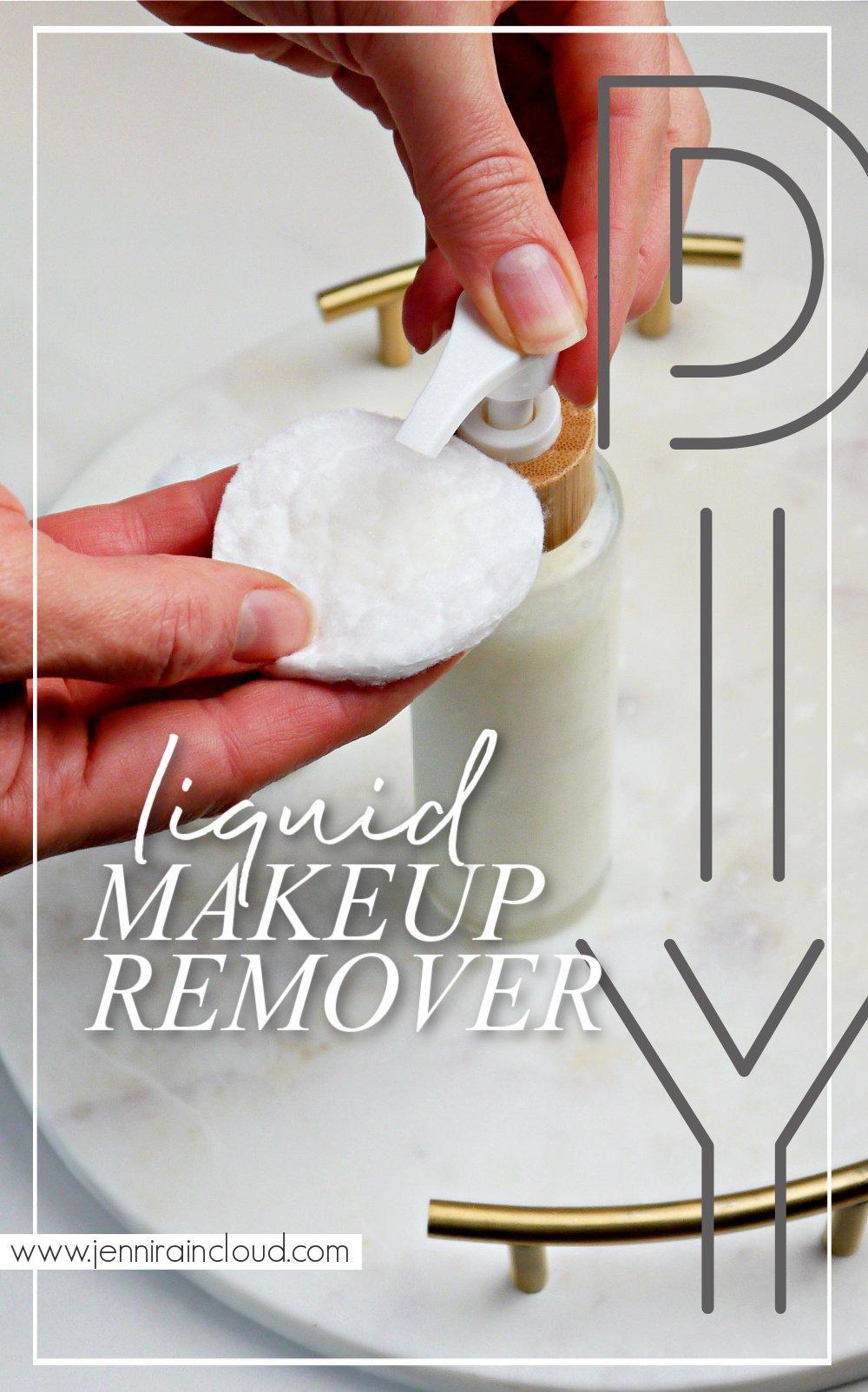 DIY Makeup Remover Pinterest