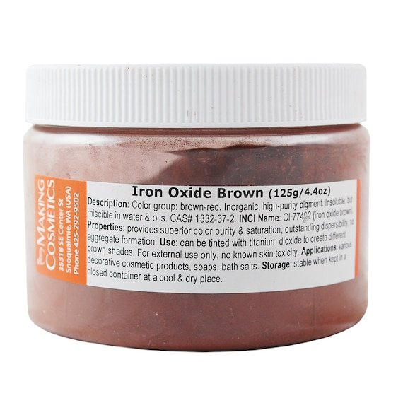 MakingCosmetics Iron Oxide Brown Cosmetic Ingredient | Etsy