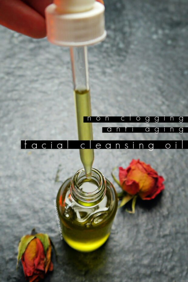 DIY Cleansing Oil Anti Aging Non Comedogenic