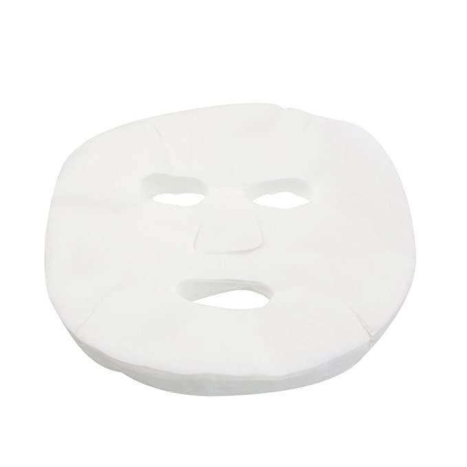 Onwon 100 Pcs DIY White Color Natural Spa Skin Care Skin Fiber Paper Pre-cut Facial Paper Sheet F...